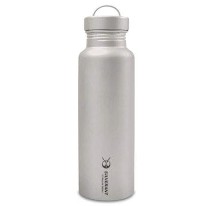 SILVERANT Ultralight 25-Ounce Titanium Water Bottle
