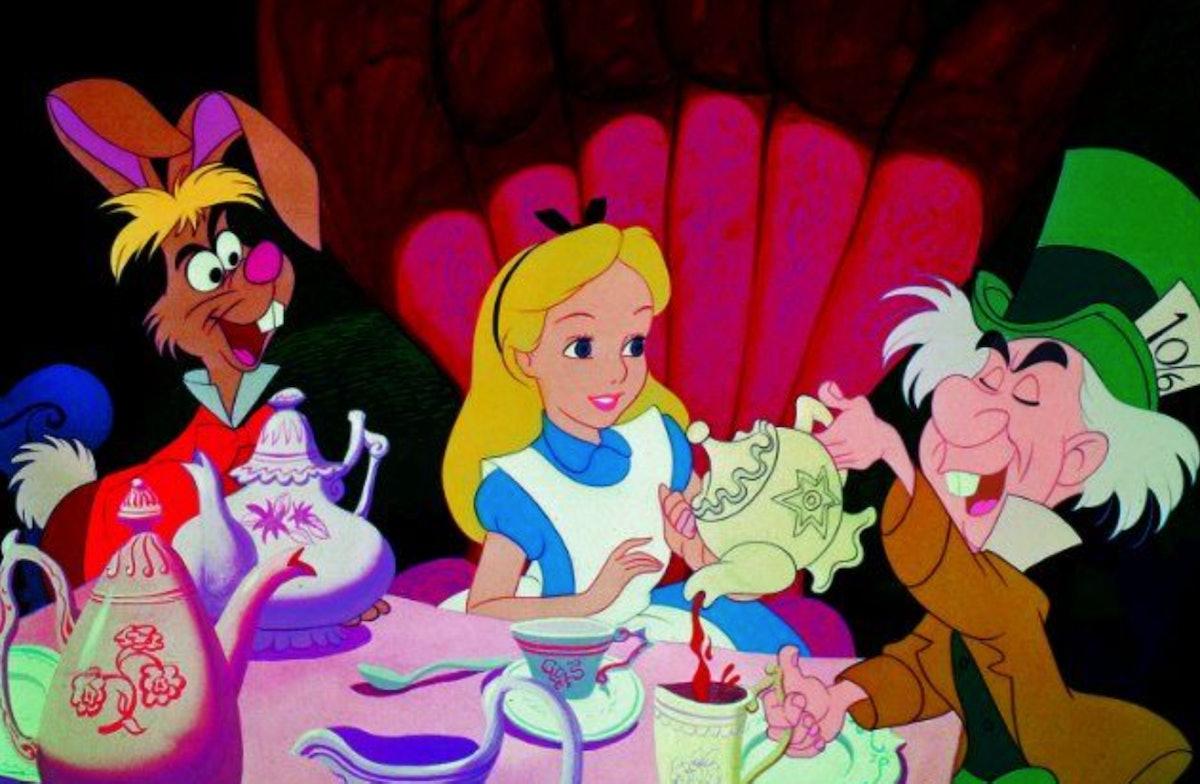 Sabrina Carpenter in 'Alice In Wonderland' on Netflix