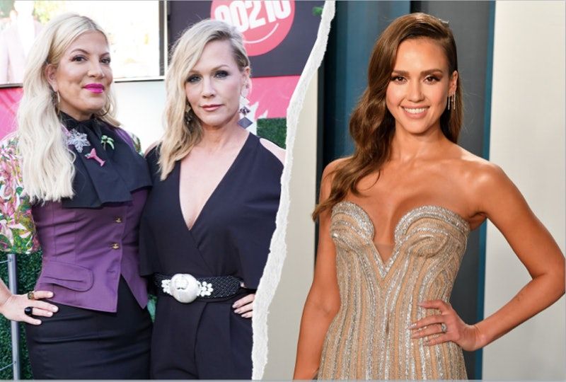 Jennie Garth &Tori Spelling Responded To Jessica Alba's 'BH 90210' Claims
