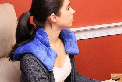 Huggaroo Neck Wrap Microwavable Heating Pad