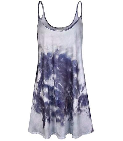 7th Element Plus Size Casual Slip Dress