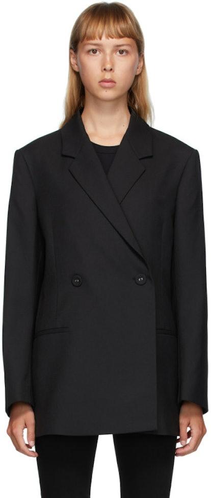 Black Wool Loreo Blazer