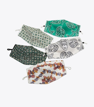 Printed Face Mask Set of 5