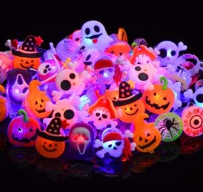 LED Light Up Gifts for Kids Halloween - 50pk