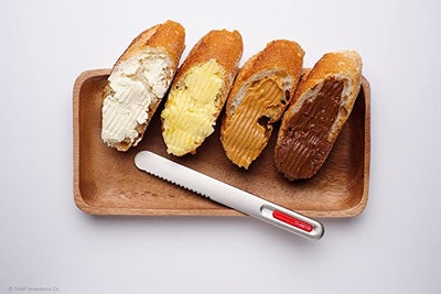 THAT Inventions Spread That Serrated Warming Butter Knife