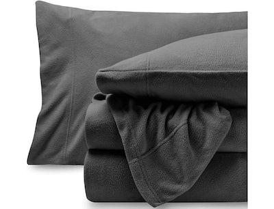 Bare Home Super Soft Fleece Sheet Set (4 Pieces)