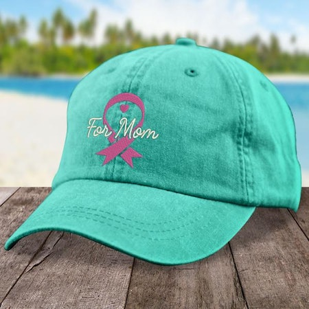 Breast Cancer Mom Hat