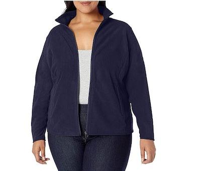 Amazon Essentials Women's Plus Size Full-Zip Jacket
