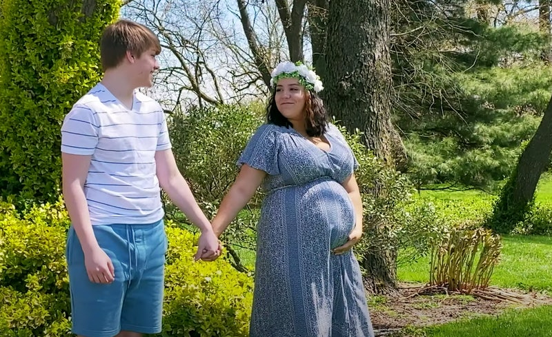 Part of the cast of MTV's '16 and Pregnant' reboot
