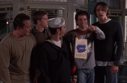 Max Greenfield on Gilmore Girls via a screenshot