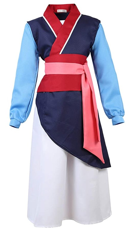 Girls Heroine Hua Mulan Costume