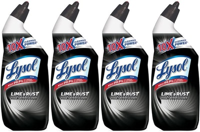 Lysol Power Toilet Bowl Cleaner (4-Pack)