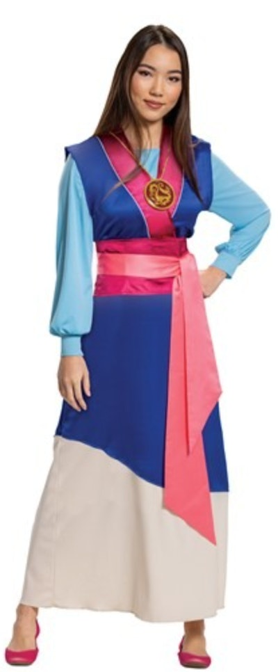 Women's Mulan Blue Dress Costume