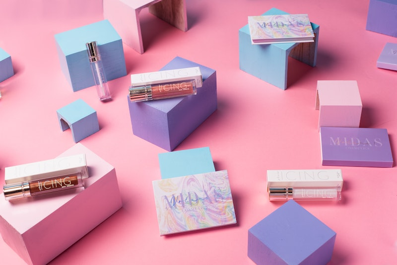 Midas Cosmetics just launched its fall collection, which features bold pastels.
