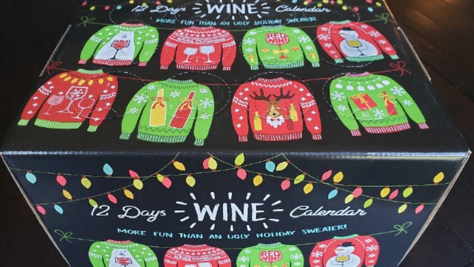 12 Days of Wine Calendar from sam's club