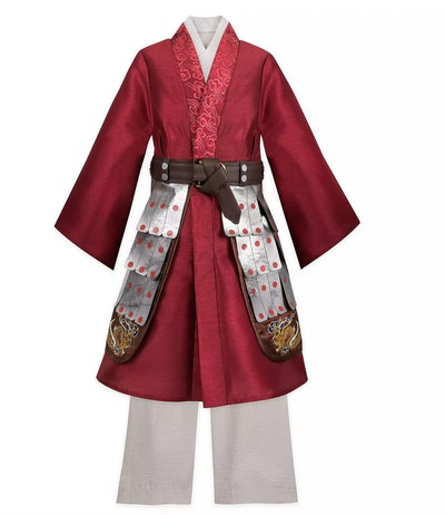 Mulan Deluxe Costume for Kids – Live Action Film