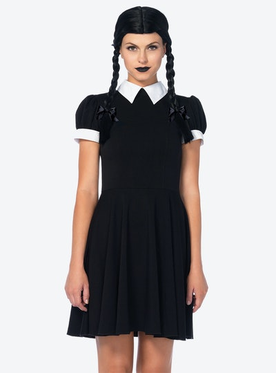 Hot Topic Gothic Darling Classic Collared Dress