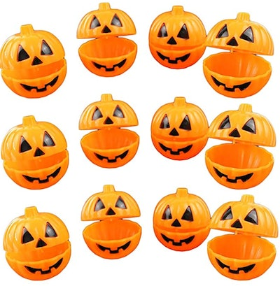 Plastic Pumpkin Shaped Storage Box Cases