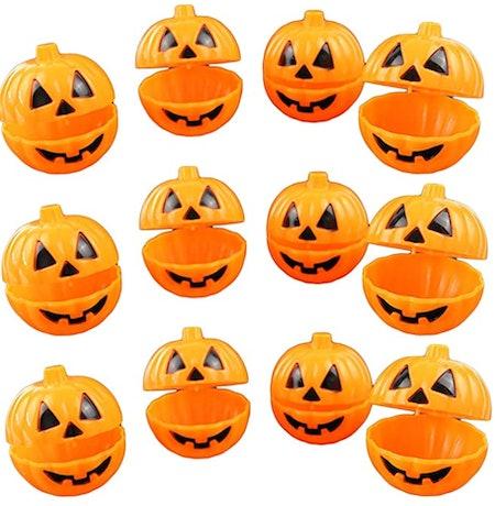 Plastic Pumpkin Shaped Storage Box Cases