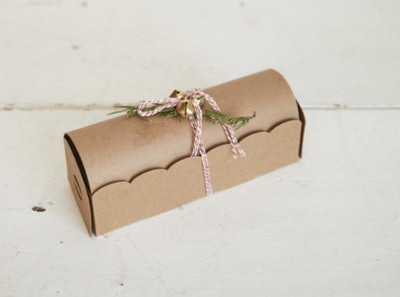 Half Baked Harvest x Etsy Scalloped Treasure Cookie Boxes - Set of 3