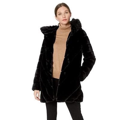 Calvin Klein Faux Fur Jacket