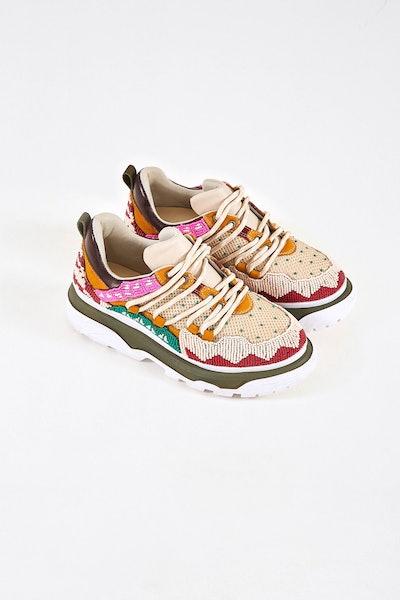 Beaded Sneaker
