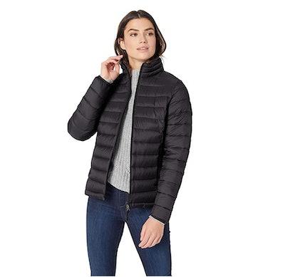 Amazon Essentials Women's Water-Resistant Puffer Jacket