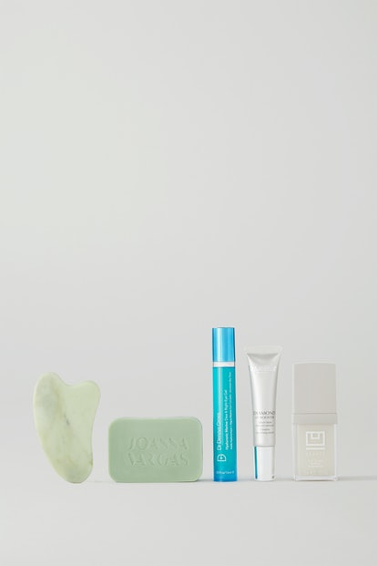 NET-A-PORTER also included a skincare tool among its products.