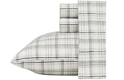 Eddie Bauer 100% Premium Cotton Bedding Sheet Set (4 Pieces)