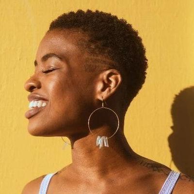 Tabitha Crystal Hoop Earrings