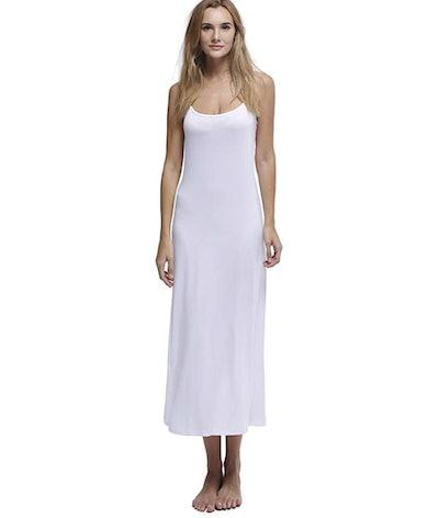 Papicutew Long Full Cami Slip Dress