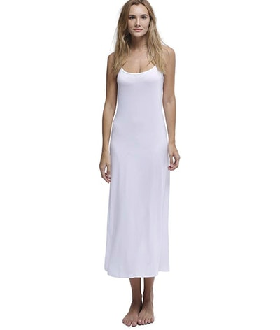 Papicutew Long Full Cami Slip Dress