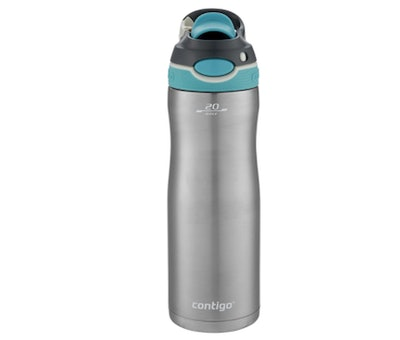 Contigo Autospout Chug Chill 20-Ounce Stainless Steel Water Bottle