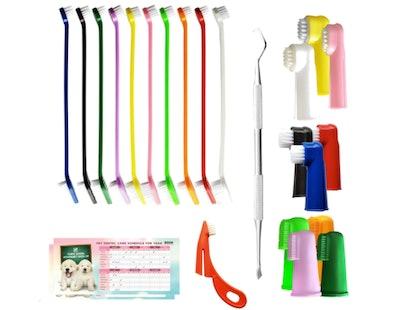 Bemix Pets Ultimate Toothbrush Kit (24-Pack)