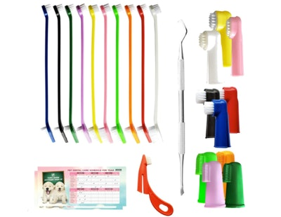 Bemix Pets Ultimate Toothbrush Kit (24-Pack)