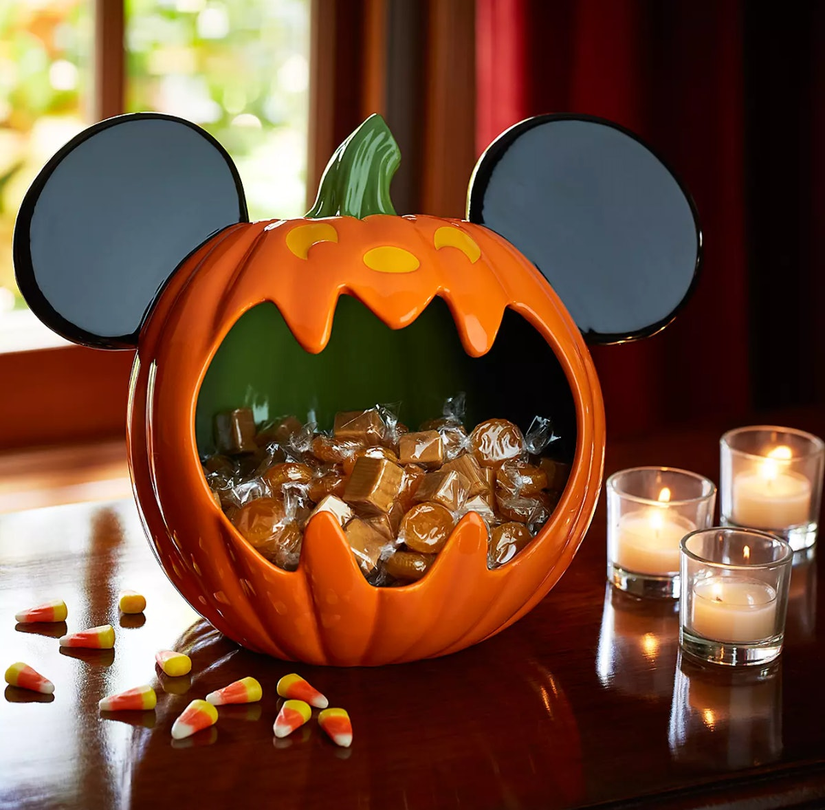 Mickey Mouse Halloween Candy Bowl