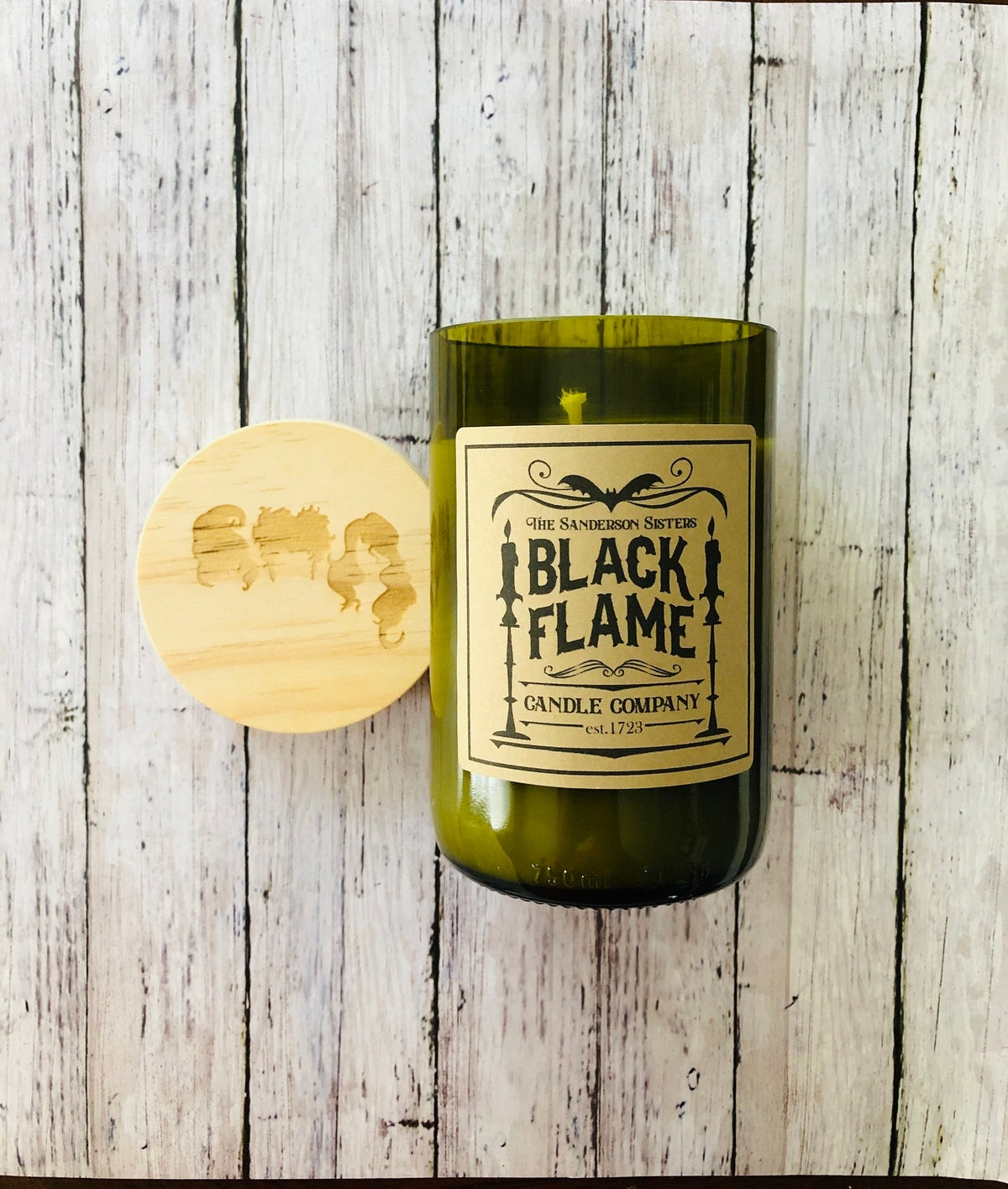 The Sanderson Sisters Black Flame Candle Company