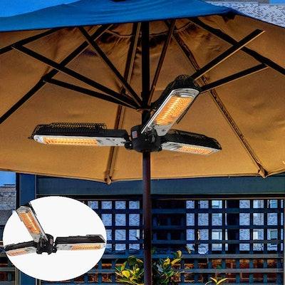 LIRUI Patio Heaters Umbrella Parasol Patio Heater