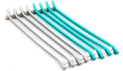H&H Pets Two-Headed Toothbrushes (8-Pack)