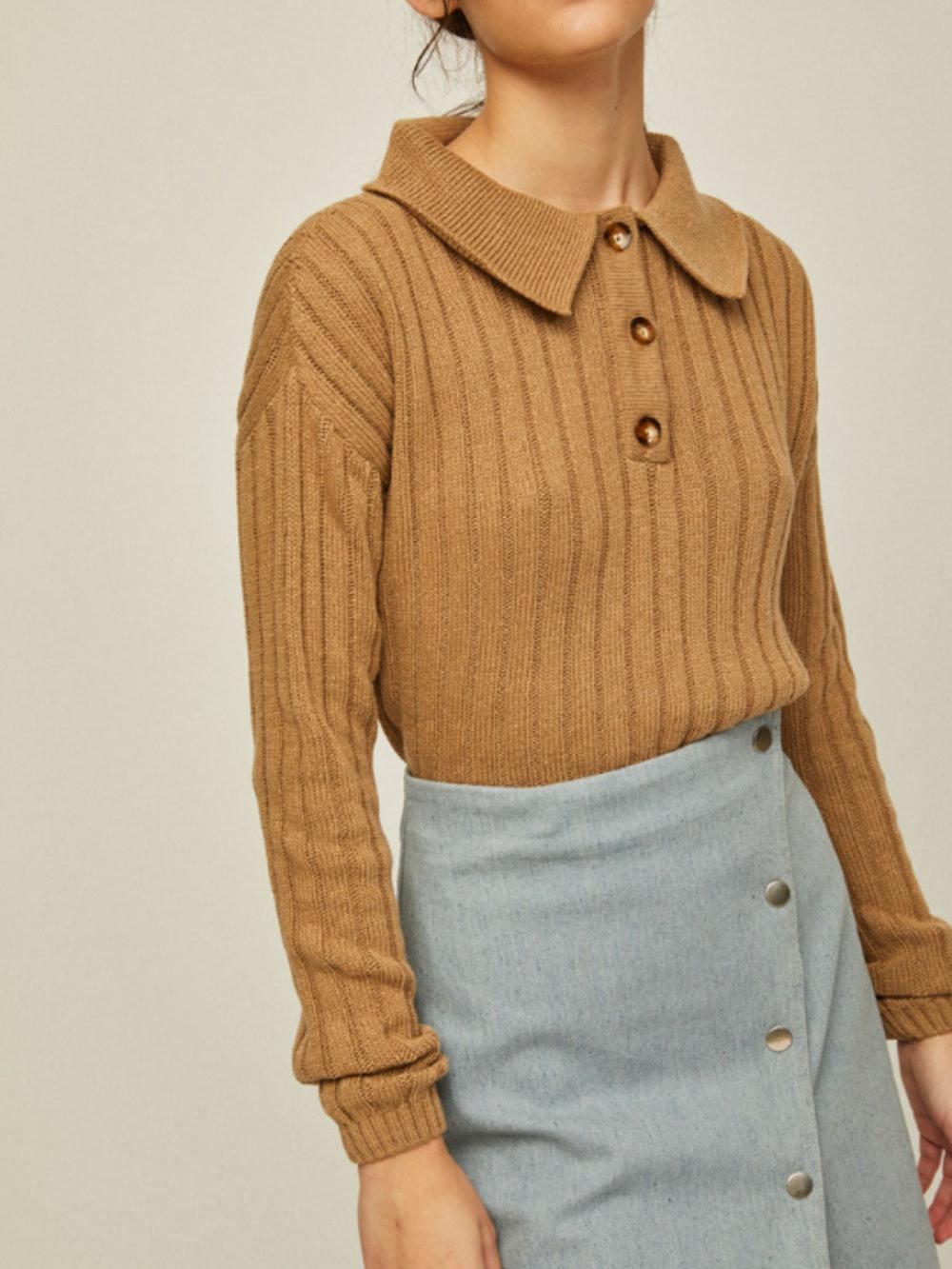 Knit Polo