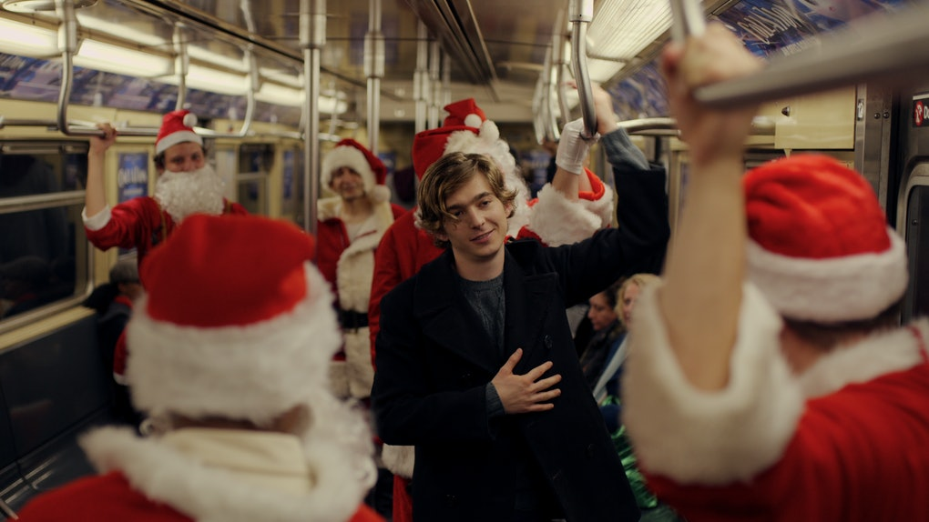 Austin Abrams in Netflix's 'Dash & Lily'