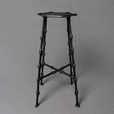 Bare Bones Metal Accent Table Black