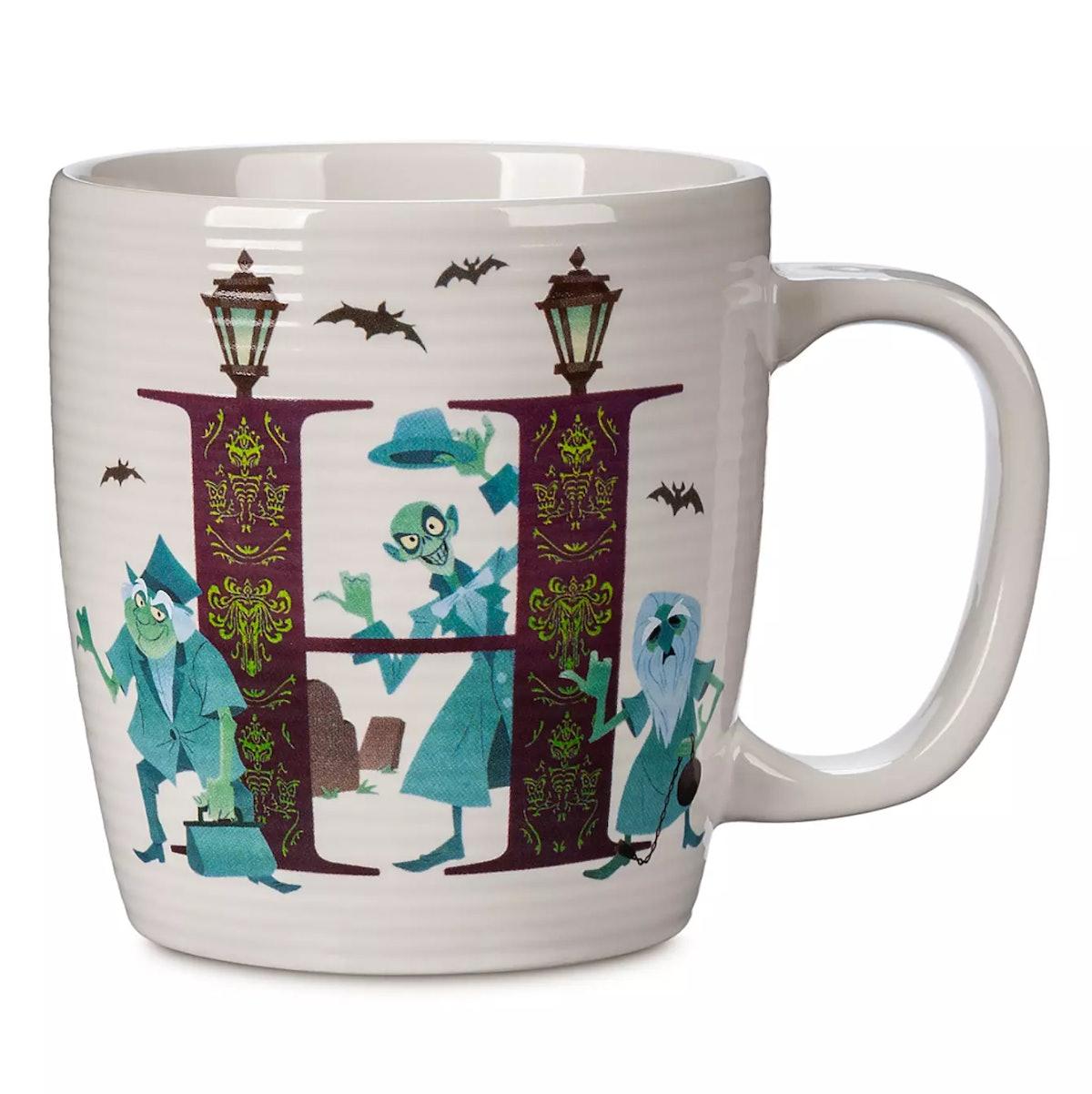 Disney Parks ABC Mug – H