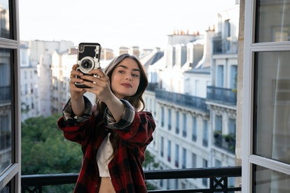 LILY COLLINS as EMILY in Emily in Paris via NETFLIX MEDIA CENTER