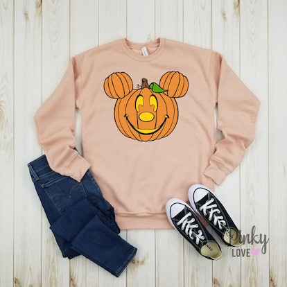 Mickey Pumpkin - Unisex Fleece Sweatshirt