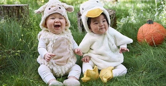 babies in pottery barn kids halloween costumes