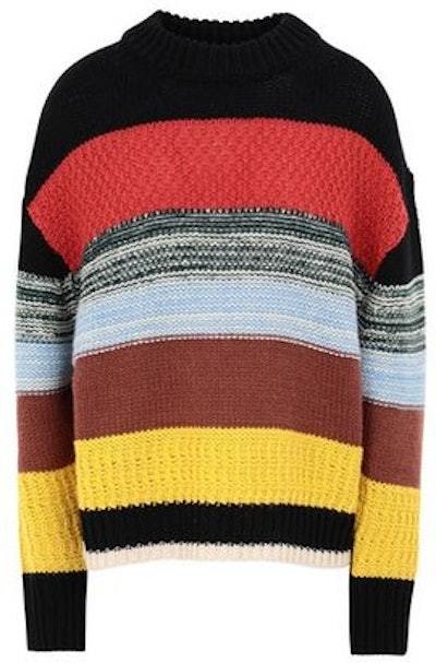 Multicolor Wool Taaj Jacquard Sweater