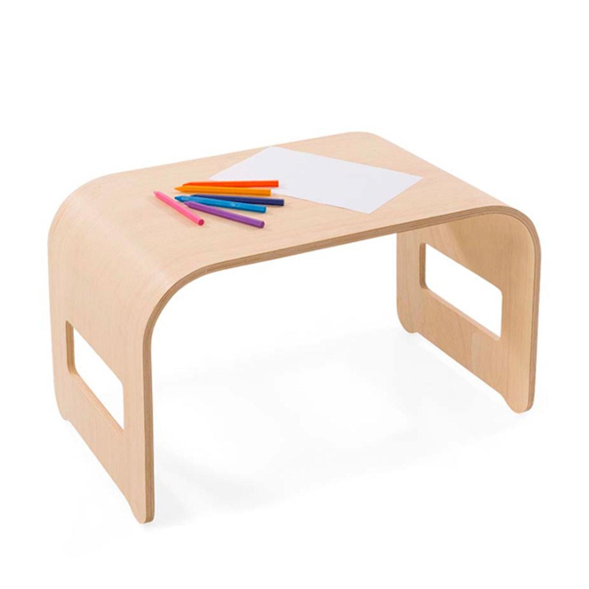 Bent Wooden Desk