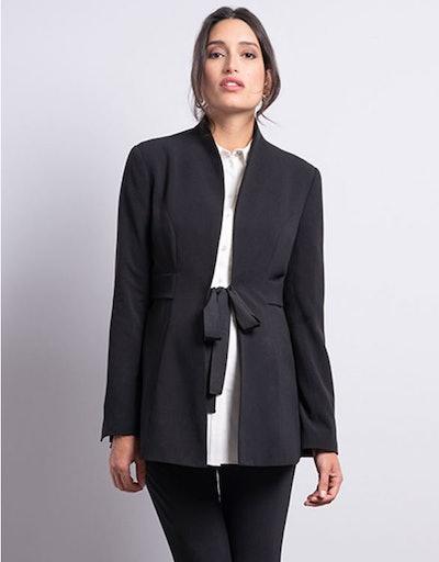 Black Tailored Maternity Blazer