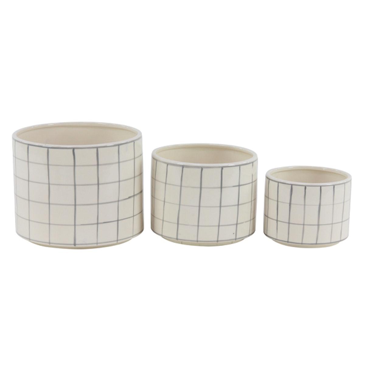 Cylindrical Ceramic Vases